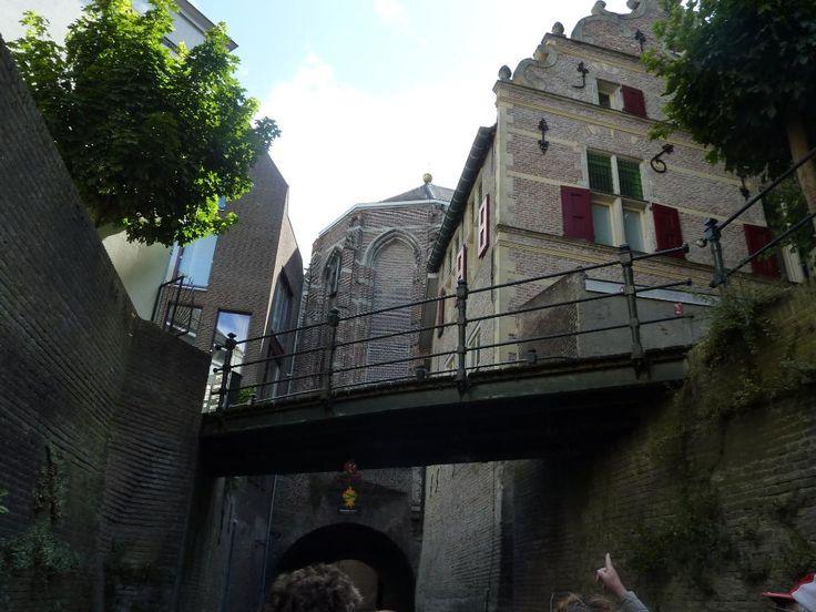 Kring Vrienden van 's-Hertogenbosch (Den Bosch, The Netherlands) Boat trip under the city as well as above