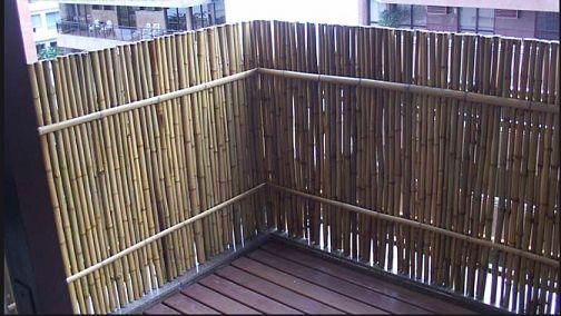 Cerramiento de balcón Av. Córdoba « ARTE EN BAMBU