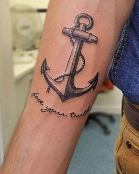 15 Cute Anchor Tattoos That Aren T Cliche