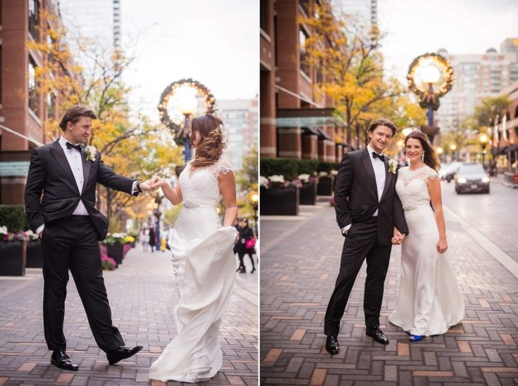 Yorkville :: Muslim Wedding :: Toronto :: Lovely after wedding photo shoot at Yorkville <3 Christmas lights <3