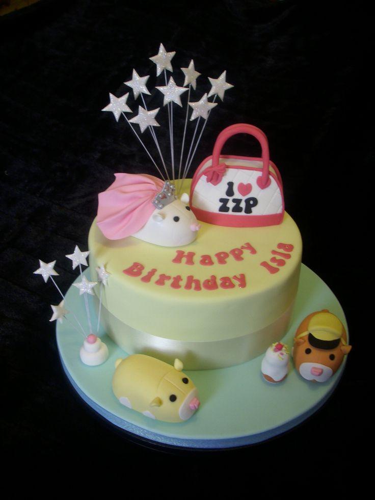 Zhu Zhu Pet Hamster Cake Cake Mouse Cake Confectionery