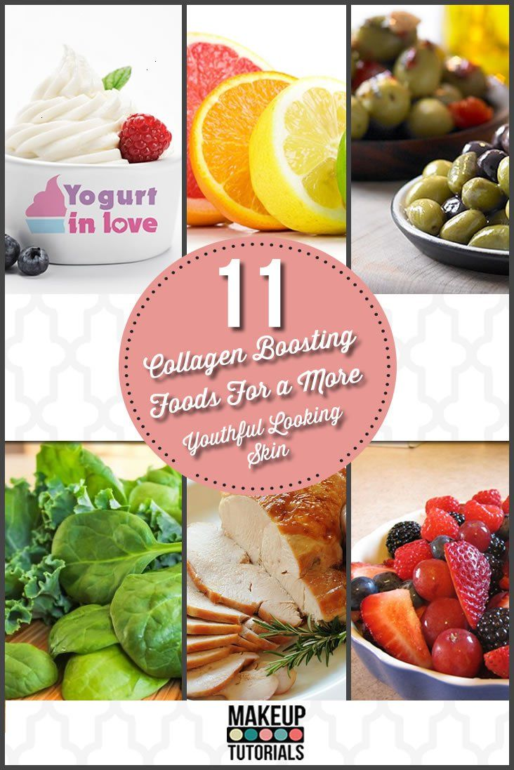 Get youthful looking skin naturally by eating these collagen boosting foods. These anti-aging tips use healthy foods to keep skin youthful the natural way.