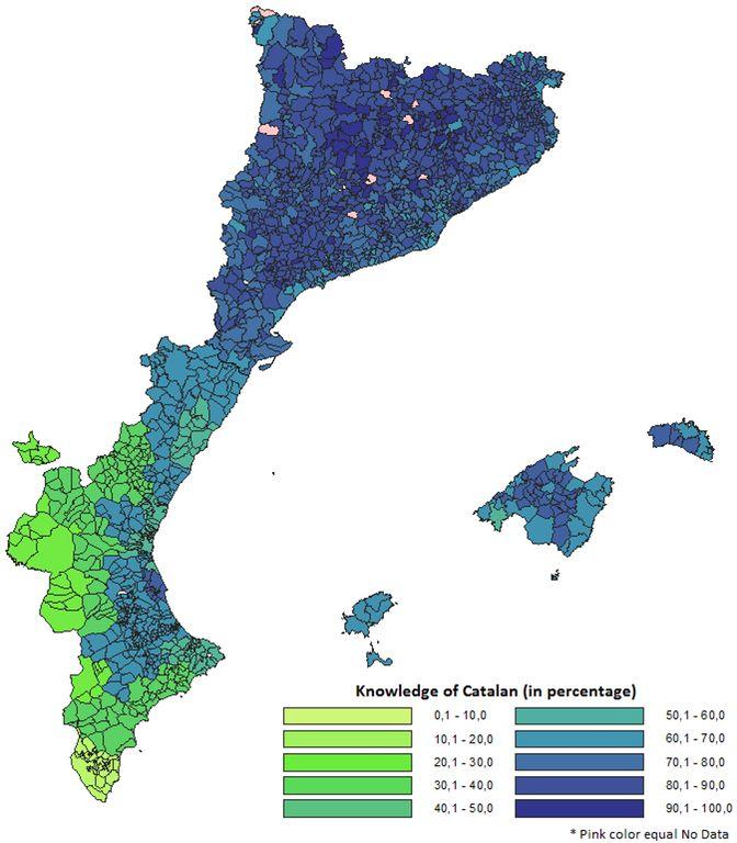 Catalan language knowledge