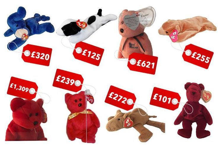 Do you have one of these rare valuable Beanie Babies? You could be holding on to a small fortune  #rarebeaniebabies
