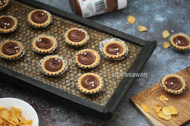 Tart Nutella Cornflakes Resepi Terbaik Nutella Tar Serikaya