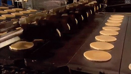 High Tech #Breakfast | Cool gifs from Pikture Planet #pancakes #gif