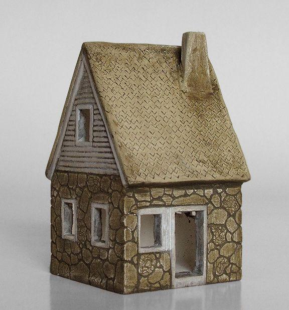 Pottery model houses