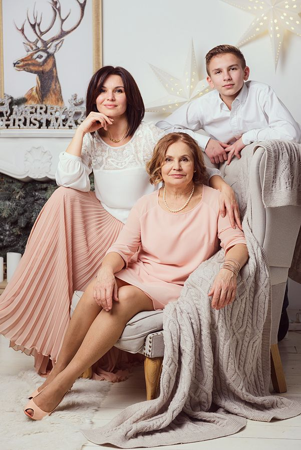 Семейное фото  #family photo #Christmas photo  #new year photo