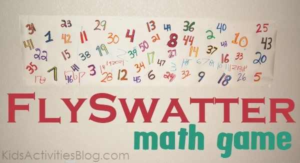 Create a fun cool math game to get kids moving!