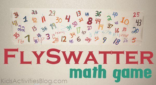 Create a fun cool math game to get kids moving!