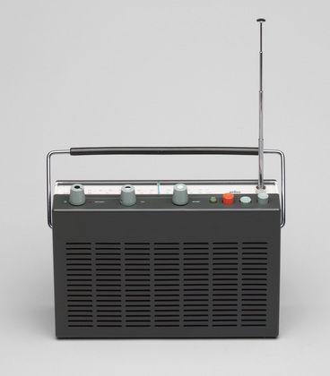 Dieter Rams. Transistor Radio (model T 580). 1961