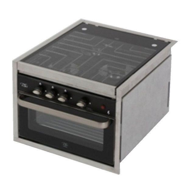 Can Srl Cu7000 Rv Propane 3 Burner Cooktop Oven Combination Gas Cooker Built In Cookers Cooktop