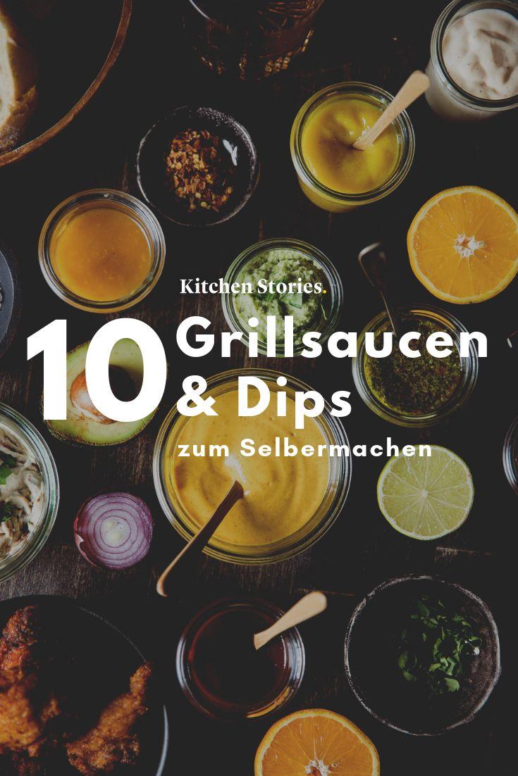 Von rauchig bis exotisch: 10 Grillsaucen und Dips zum Selbermachen