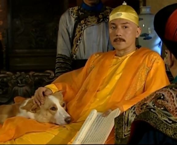 John Lone As Emperor Kanghxi In Records Of Kangxi S Travel Incognito In Season 5 Show Aired 1998 2007 The Dog Is John Lone S Own Dog M In 2020 John Lone Lonely John