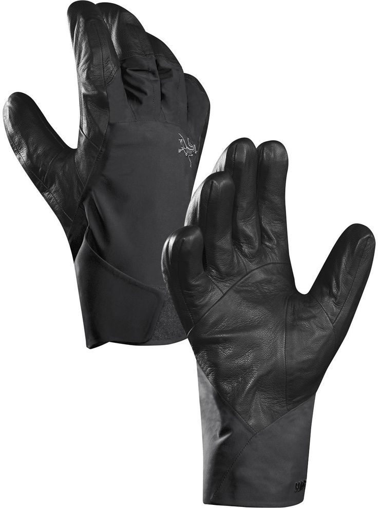 Rain, wind or snow outside? How about all three? The Arc'teryx Rush Glove is a glove made for the hardiest skier. The back of the hand is shielded with 3L GORE-TEX® Pro fabric and the palm is made with sticky while rugged leather. Try the glove at CAN-SKI.