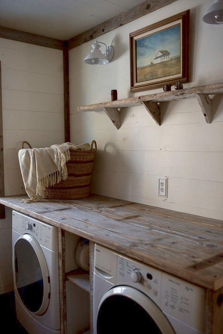 8 schöne und funktionale kleine Waschküche Design-Ideen, die ...
