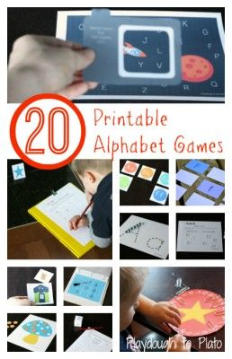 Easy and fun way to teach kids letter names, sequencing and writing. {Playdough To Plato}
