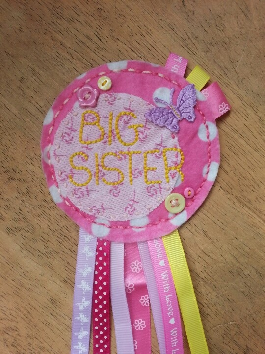 For a big sister. ..