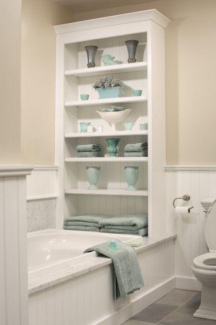 bathroom storage  Love this!: