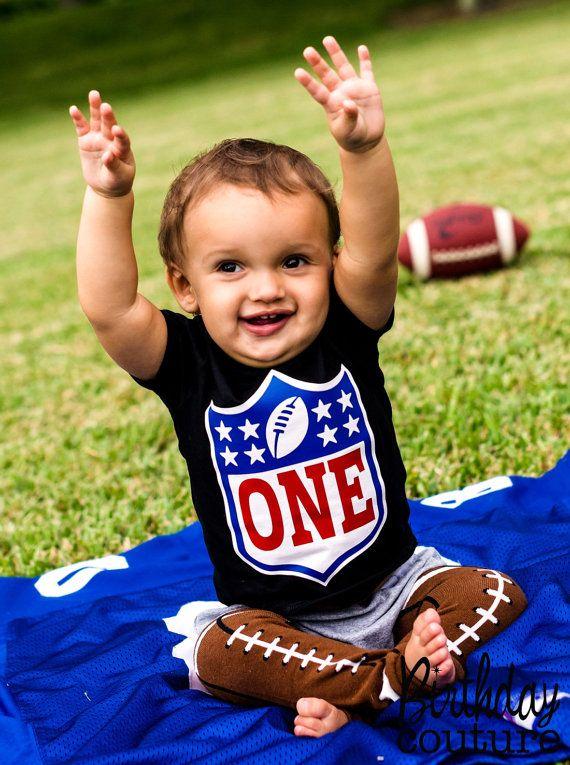 Birthday Rookie - Football -Themed Birthday Shirt - Sizes 6m - Youth Medium - Customized for Age of Choice. $25.00, via Etsy.