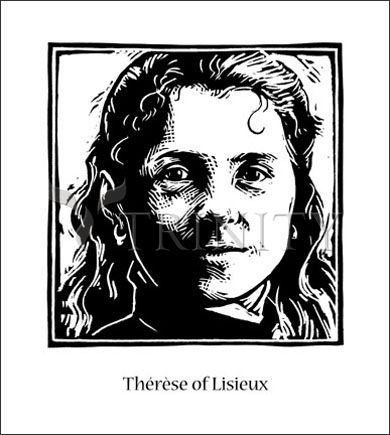 St. Thérèse of Lisieux by Julie Lonneman * we're going to get images of our saints! * trinitystores.com