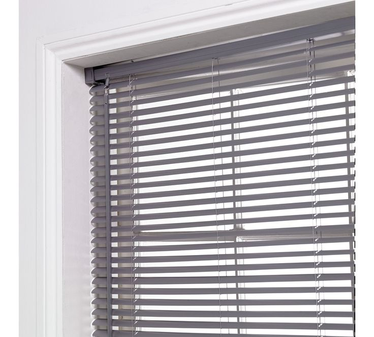 Buy ColourMatch PVC Venetian Blind - 4ft - Flint Grey at Argos.co.uk - Your Online Shop for Blinds, Blinds, curtains and accessories, Home furnishings, Home and garden.