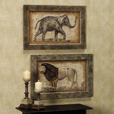 Safari Wall Art 35 best for my new home wall art images on pinterest | metal walls