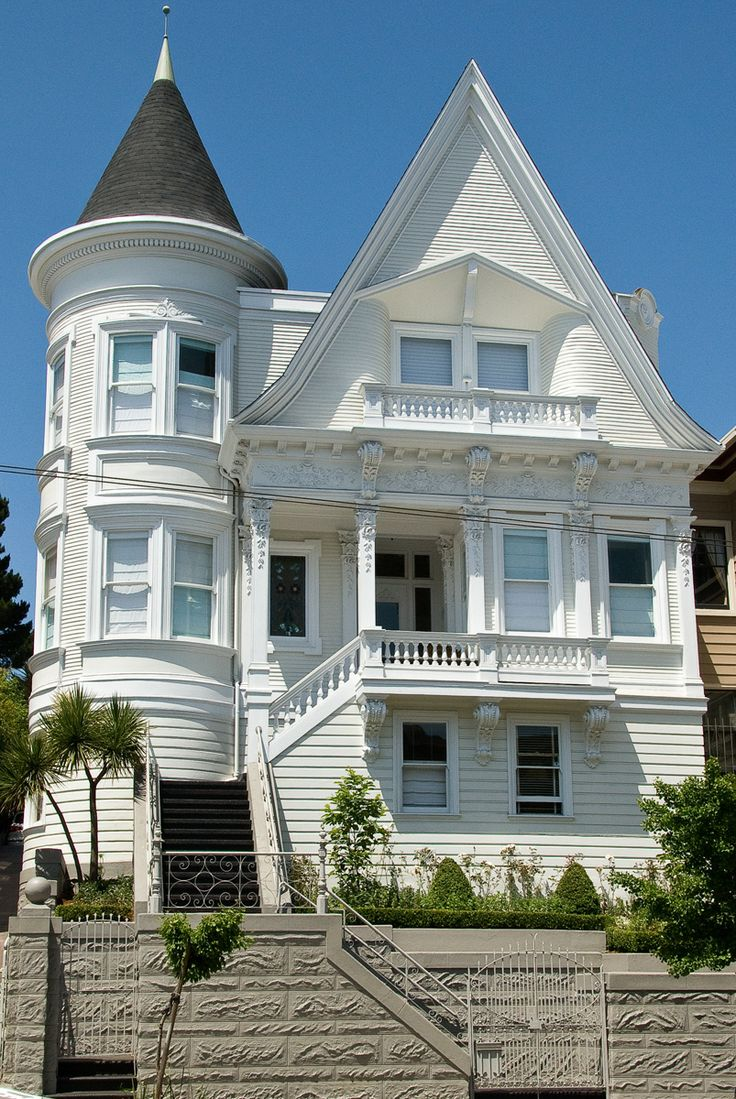 135 best san francisco architecture images on pinterest for San francisco victorian houses history