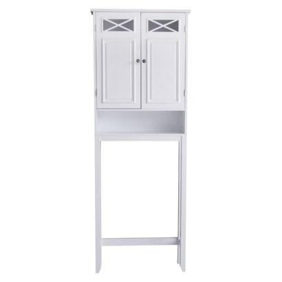Dawson Over Toilet Etagere - White