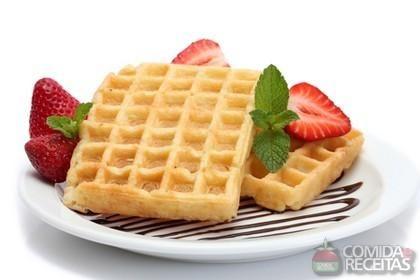 Receita de Waffles em receitas de biscoitos e bolachas, veja essa e outras receitas aqui!