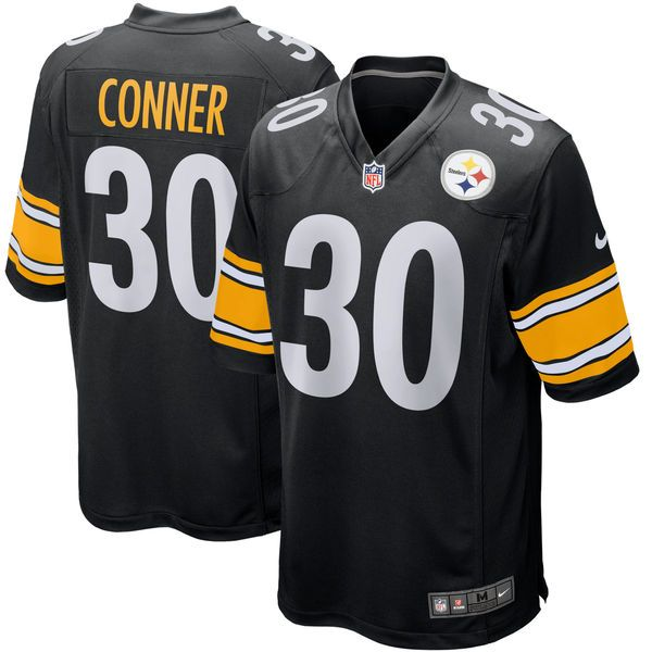 James Conner Pittsburgh Steelers Nike Youth Game Jersey - Black - $74.99