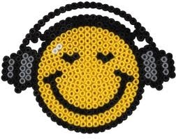 Smiley - Hama Perlen