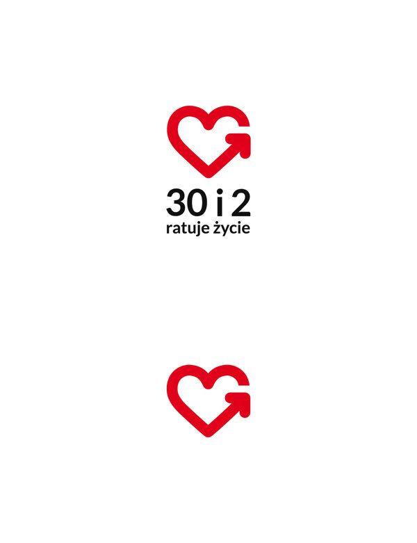 30 i 2 – ratuje życie, educational campaign by Marta Maria Dudek, via Behance