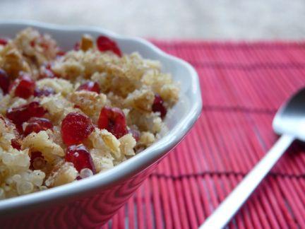 Desayuno de quinoa