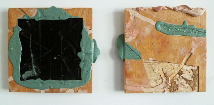 Glen Snow, The Weight of Things and Fundus, Both paintings 2013