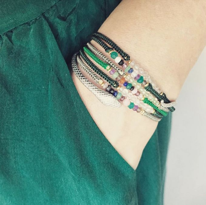 GREEN  We love this amazing smagrad green - details: green silkskirt, candybracelets & snake  #love #mixed #mixnmatch #sterlingsilver #silver #snake #armcandy #candy #candybracelets #glamgirl #glam #stineajewelry #danishdesign #color #gemstone #madewithlove #makeyourownlook #greenisthenewblack #stinea #classic #styles #jewelry #jewelrylove #bracelet #ootd #green