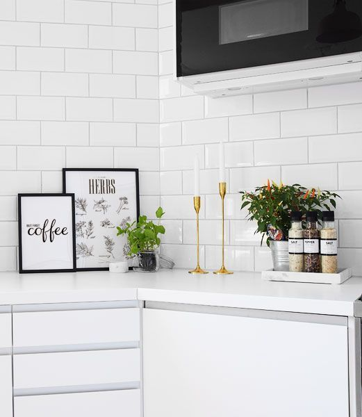 snyggt kakel till vitt kök - Sök på Google