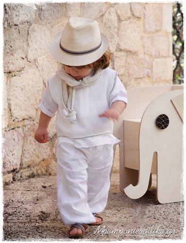 """Βαπτιστικά Ρούχα Για Αγόρι """"Antony"""" bra058"""