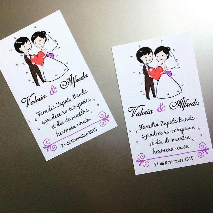 Imanes - Matrimonio Valeria & Alfredo