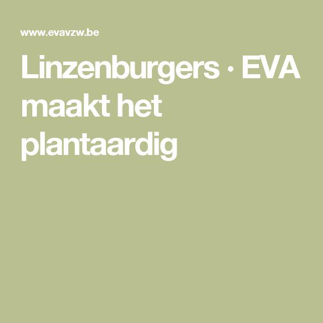 Linzenburgers · EVA maakt het plantaardig