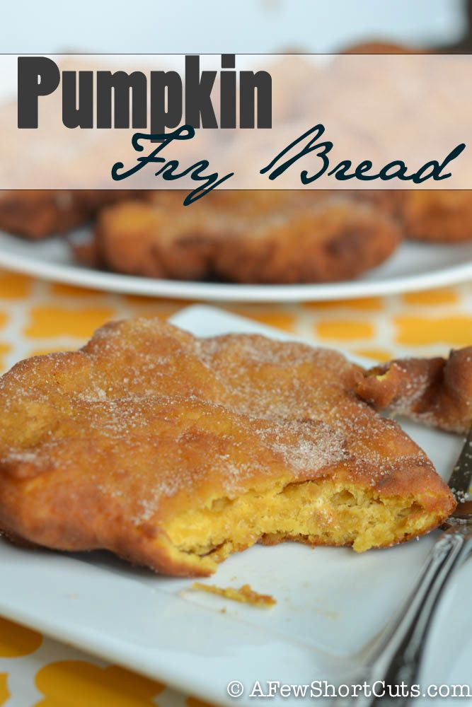 Love pumpkin. Enjoy it year round with this Pumpkin Fry Bread #Recipe
