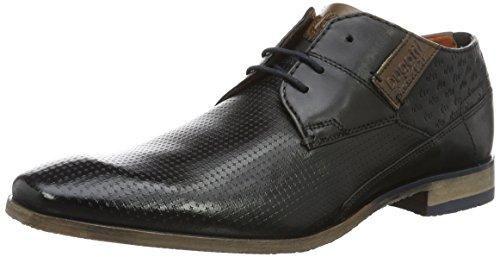 Oferta: 109.7€. Comprar Ofertas de Bugatti 312105021010, Zapatos de Cordones Derby para Hombre, Schwarz (Schwarz Cognac 1063), 40 EU barato. ¡Mira las ofertas!