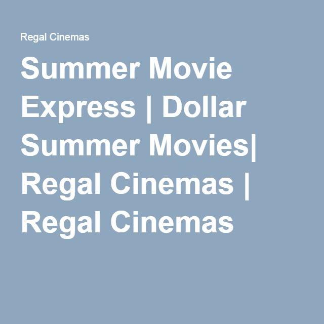 2016 Summer Movie Express | Dollar Summer Movies| Regal Cinemas | Regal Cinemas