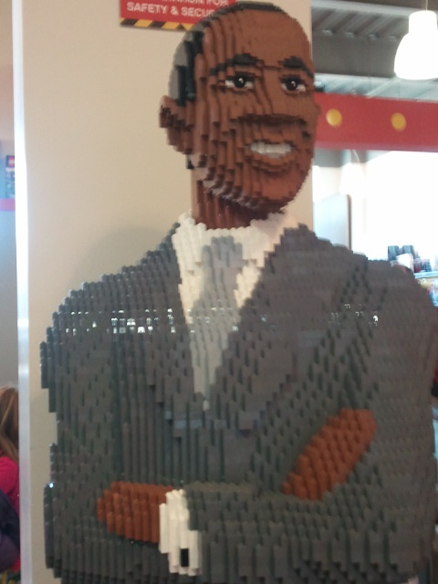 LegoLand Obama Inauguration