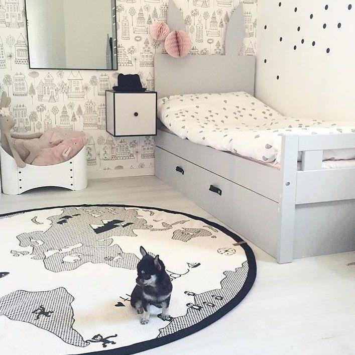 """1,044 gilla-markeringar, 29 kommentarer - Här får ni följa: (@barnrumsinspo) på Instagram: """"•Dagens favorit• Sänggavel är enkelt DIY att hitta på med barnen, ex såga ut barnens favoritdjur…"""""""