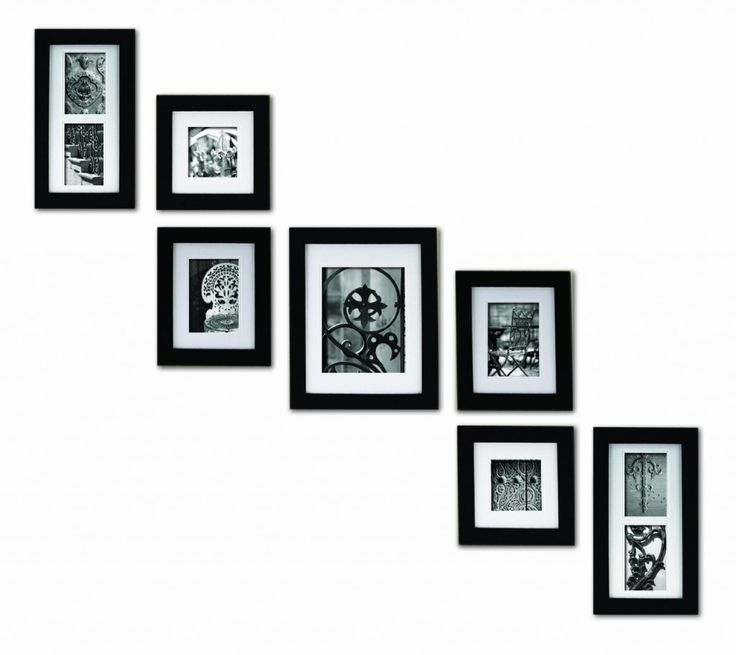 black and white picture frame ideas | My Web Value