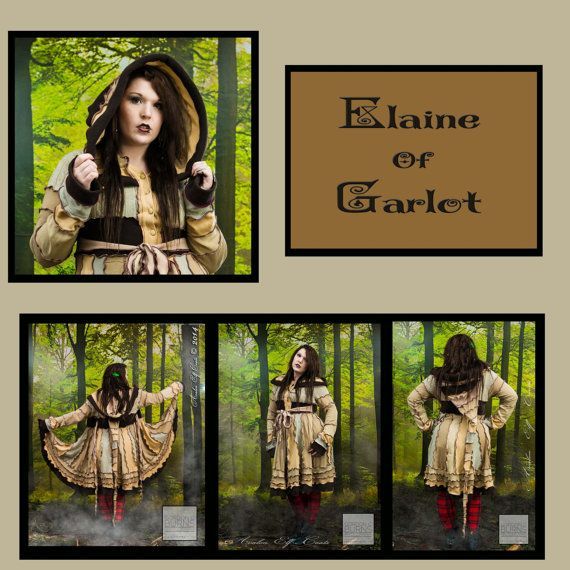 Elaine of Garlot mid length patchwork coat-avalon elf coats beautiful designs and handmade quality...amazing!