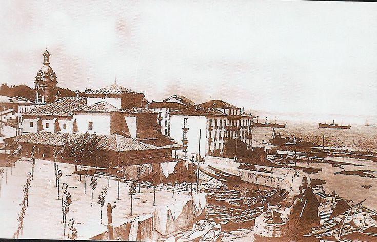 Santurce and its old fishers port