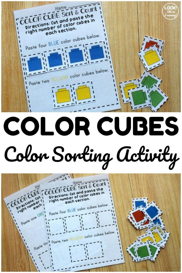 Fun Colorful Counting Sorting Worksheets For Preschoolers Color Sorting Activities Preschool Worksheets Preschool Learning [ 1102 x 735 Pixel ]