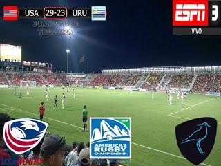 America Rugby Championship 2017 1º Fecha: Estados Unidos 29-23 Uruguay